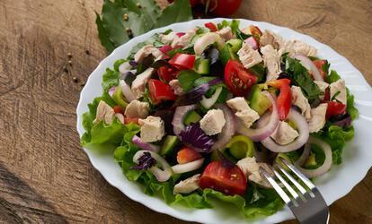 városi házi készítésű súlycsökkentő saláták