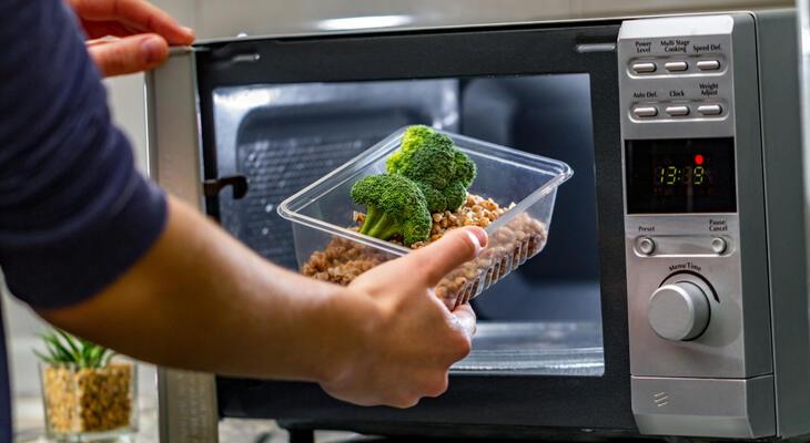 mikrohullámú ételek fogyni