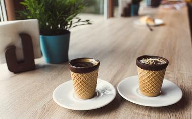 Már tesztelés alatt a legújabb zseniális ötlet, az ehető kávécsésze!